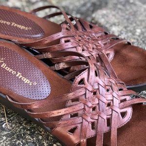 BareTraps Brown Multi Strap Sandal - Z21